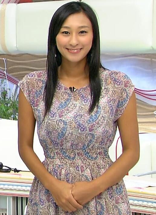 ニュース番組の浅田舞さん